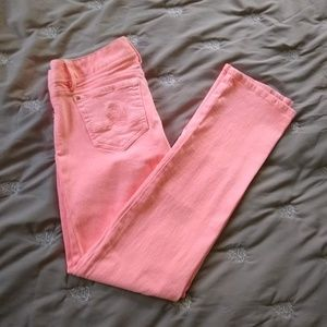 Lilly Pulitzer Pink Worth Straight Jean Size 6